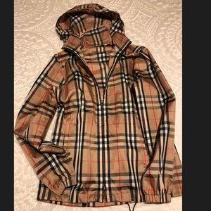 Burberry Check Raincoat XS brand new $695
